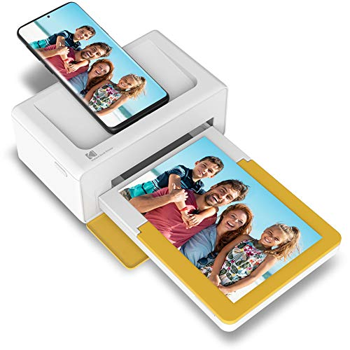 """Kodak Dock Plus 4×6"""" Portable Instant Photo Printer (2021 Edition), Compatible with iOS, Android and Bluetooth Devices…"""
