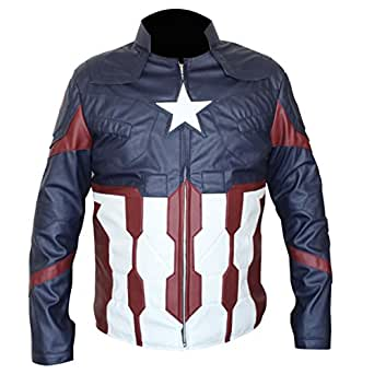 American Jacket Captain America Chris Evans Steve Rogers Avengers Infinity War Jacket (X-Small)