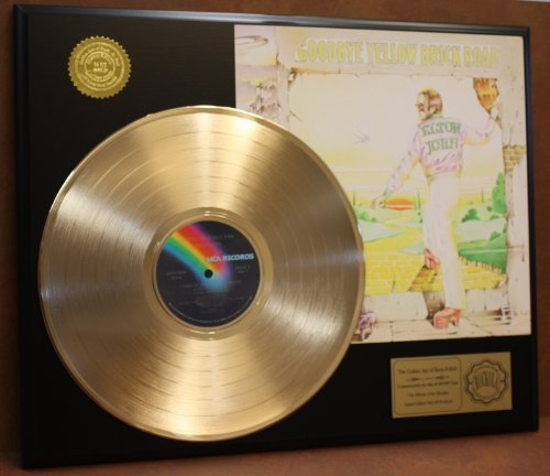 Limited Edition Gold Record (Elton John