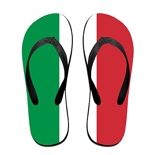 14803ed177fd89 Italian Flag Funny Flip Flops For Children Adults Men And Women Beach  Sandals Pool Party Slippers