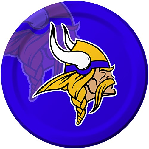 Creative Converting 8 Count Minnesota Vikings Paper Dinner Plates