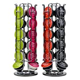 Convenient Coffee Pod Holder Rotating Rack Coffee Capsule Stand Capsules Storage for 24 PCS Dolce Gusto Capsule