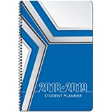 Dated High School Student Planner for Academic Year 2018-2019- Jostens - Blue