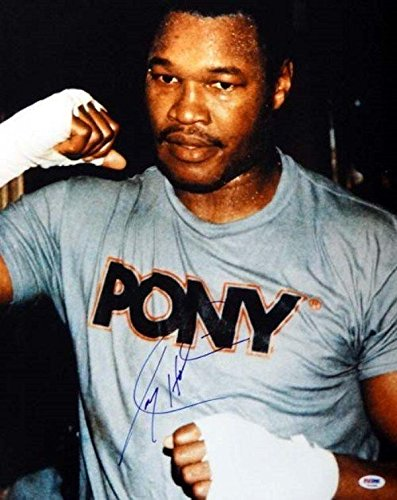 Signed Larry Holmes Photograph - 16x20 # - Larry Holmes Photograph Shopping Results