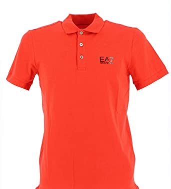 Emporio Armani EA7 Ea7 Polo Shirt Black/Gold: Amazon.es: Ropa y ...