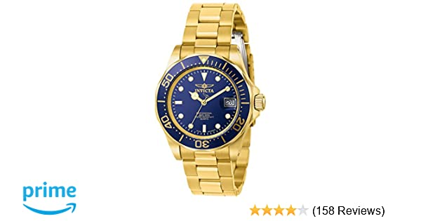 Amazon.com: Invicta Mens 9312 Pro Diver Gold-Tone Stainless Steel Watch with Link Bracelet: Invicta: Watches