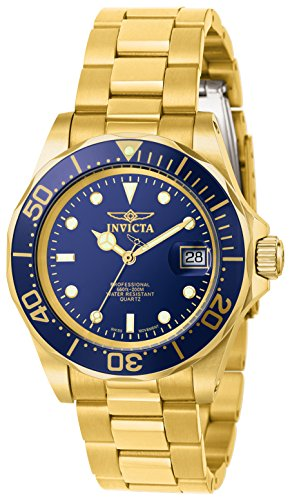 Invicta Men's 9312 Pro Diver Gold-Tone Stainless Steel Watch with Link Bracelet by Invicta