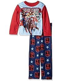 Boys' The Justice League 2-piece Fleece Pajama Set
