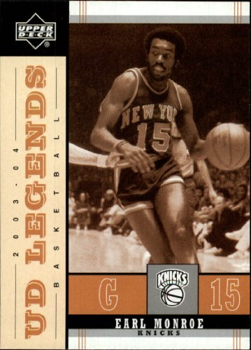 2003-04 Upper Deck Legends Throwback #62 Earl Monroe for sale  Delivered anywhere in USA