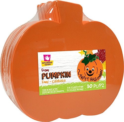 Creative Hands Foam Shape Stack Pumpkin Decorations]()