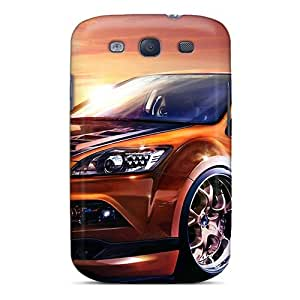 Defender Case With Nice Appearance (ford Focus) For Galaxy S3