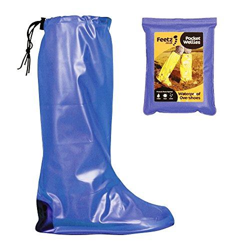 Feetz Blue Feetz Festival Wellies Wellies Pocket Feetz Blue Festival Pocket wAOtyqOz
