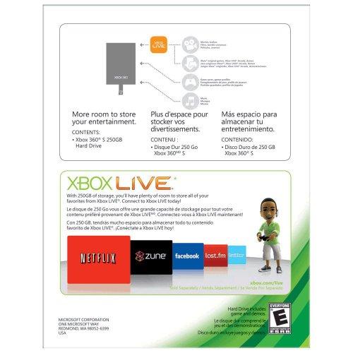 Xbox 360 250GB HardDrive - Xbox Slim Only