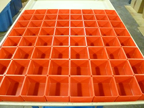 """64 3""""x3""""x2"""" Red Plastic Boxes fit Lista Stanley Waterloo for sale  Delivered anywhere in USA"""