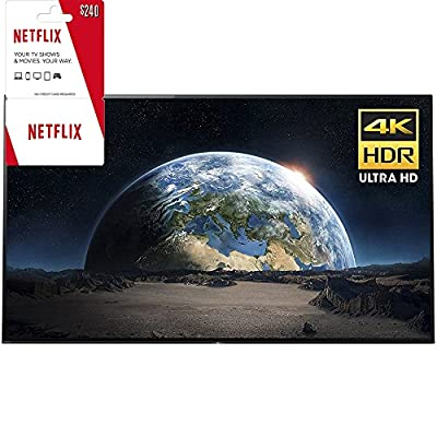 """Sony XBR77A1E 77"""" 4K Ultra HD Smart BRAVIA OLED TV 2017 Model with 2 Year Netflix Subscription"""
