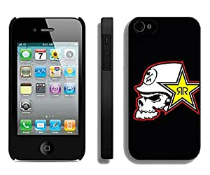 metal mulisha rockstar Black Fantastic Style Design iPhone 4S Case