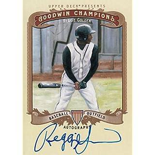 2012 Upper Deck Goodwin Champions Autographs #ARG Reggie Golden Autograph Card