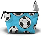 WQWSVX Soccer Ball Fashion Travel Bag Trapezoid