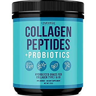Collagen Peptides Powder   Grass-Fed Collagen Type I and III - Non-GMO, Gluten Free, Unflavored, 210 Grams (210 Grams)