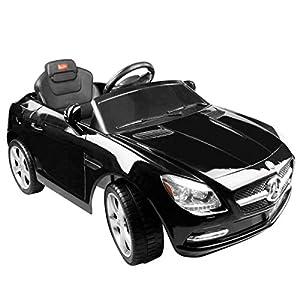 mercedes benz slk 6v licensed childrens kids ride on electric remote toy car black