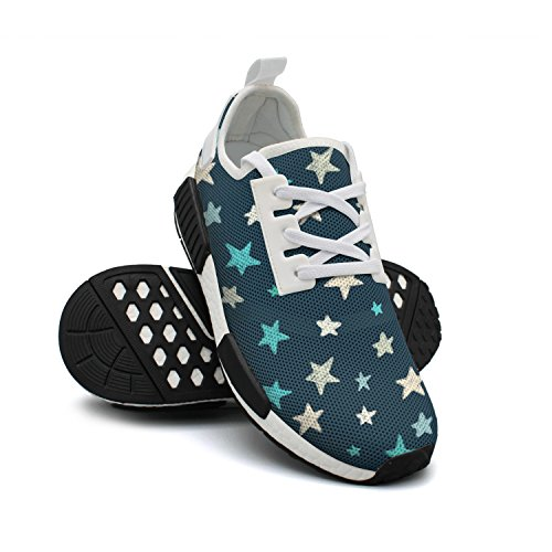 Star Womens Mesh Sneaker Shoes Lightweight Designer FAAERD is Doodle Breathable Fashion Sneakers What wgC5vxqXO