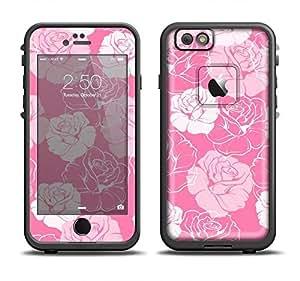 The Subtle Pinks Rose Pattern V3 Skin Set for the Apple iPhone 6 LifeProof Fre Case (Skin Only)