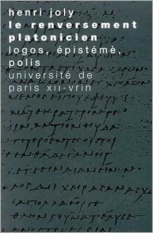 Livres Le renversement platonicien epub pdf