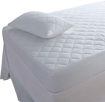 100/% Coton Imperméable Matelassé matelas type drap housse Simple Double King