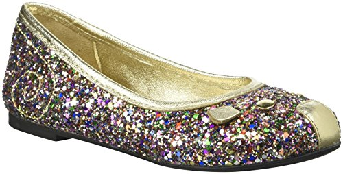 Little Marc Jacobs W19047 Mouse Ballerinas, Multi-Colored, 8.5 M US Toddler by Little Marc Jacobs