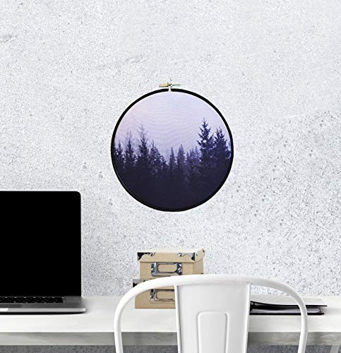 . Amazon com  Misty Forest wall art Tumblr room decor Modern