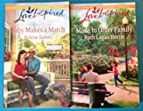 img - for 2 Books! 1) Baby Makes a Match 2) Made to Order Family (Love Inspired) book / textbook / text book