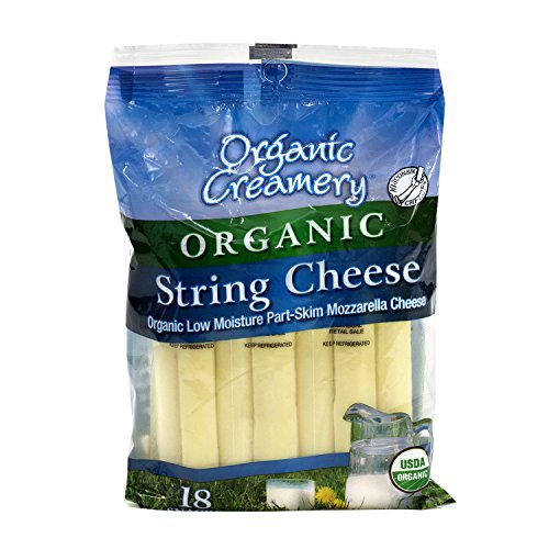 Organic Creamery Organic String Cheese, 1 oz, 18 Count