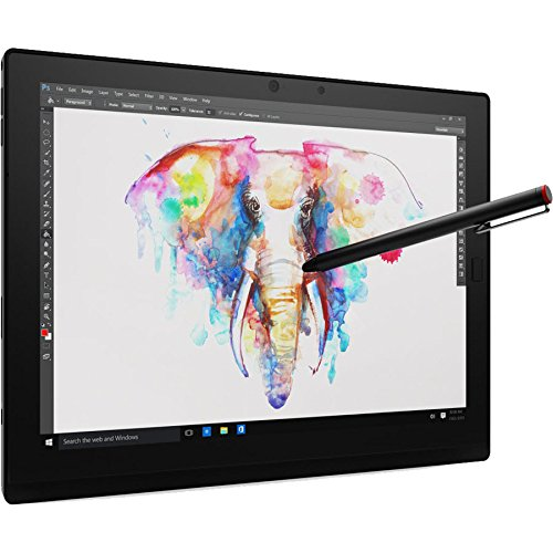 "Lenovo ThinkPad X1 Tablet, 12"" Full-HD+ IPS Touchscreen w/Active Pen, Intel Core m7-6Y75 Dual-Core 1.2GHz, 256GB Solid State Drive, 8GB DDR3, 802.11ac, Bluetooth, Detachable Keyboard, Win10Pro"