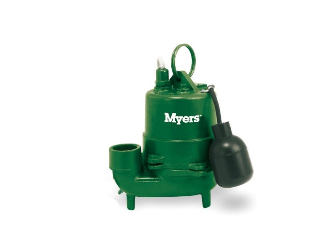 Myers SSM33IP-1 Sump Pump 0.33 HP 115V 10 foot Cord by Myers