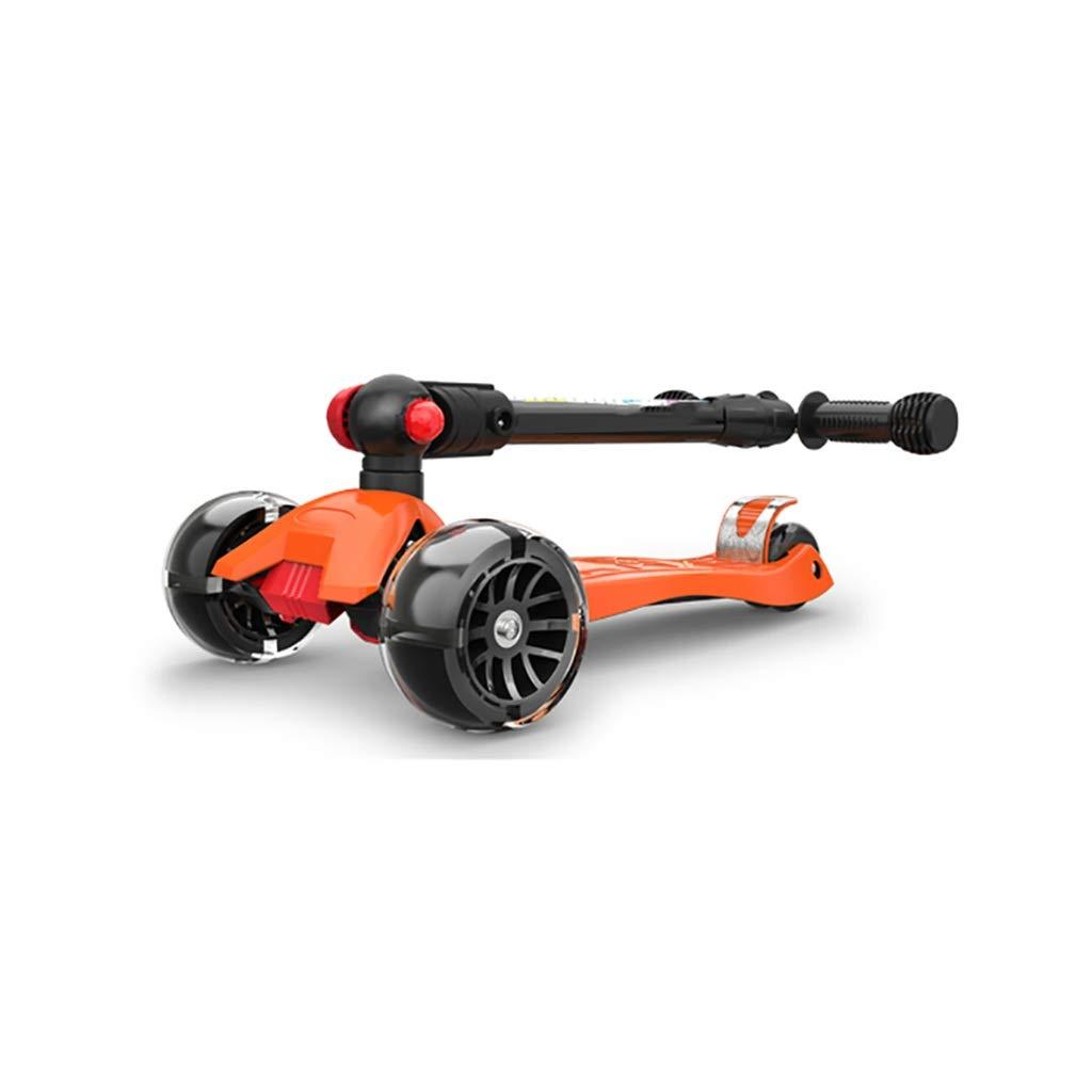 3つの車輪のスクーターの折り畳み式の高さの調節可能で自由で滑らかな滑走 B07R4H24DL B07R4H24DL, THE MATERIAL WORLD:3632e495 --- barbaradimonaco.com