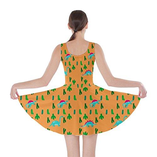 CowCow - Vestido - para mujer Orange Cactus