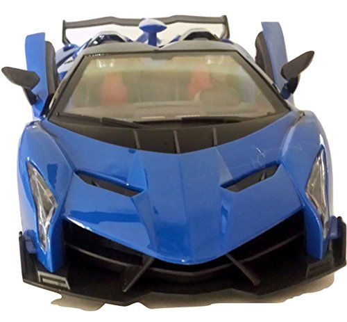 rtible Lamborghini Veneno Battery Operated Remote Control Car | Kids Favorite Toy | 1/14 Scale ()