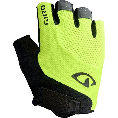 Giro Bravo Gel Cycling Gloves - Men's Highlight Yellow Small -