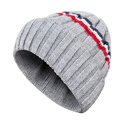 Dsane Kids Baby Winter Toddler Ribbed Knit Children's Hat Boys Girls Beanie Cap