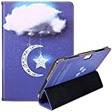 """YELLYOUTH 10.1 inch Android Tablet Case, PU Leather Folio Cover fit for Plum 10"""" Phablet,Lectrus 10,Victbing 10,Hoozo 10,Wecool 10.1,Yuntab 10.1 (K107/K17),KUBI 10.1,Winsing 10"""