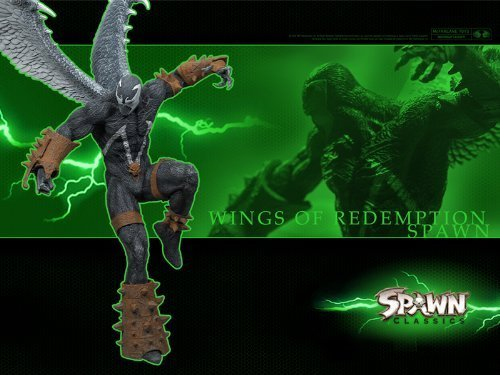 (SPAWN WINGS OF REDEMPTION - Spawn Series 34: SPAWN CLASSICS Ultra Action Figure by Spawn)