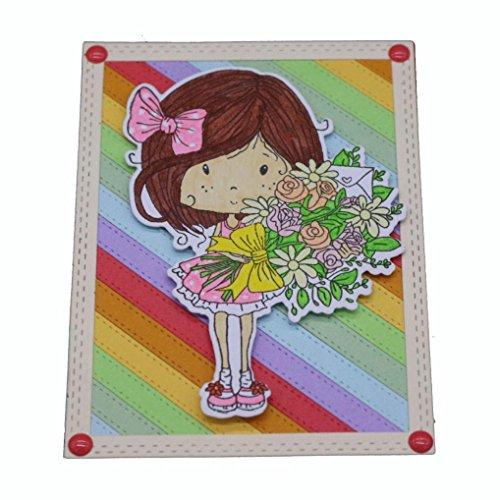 Flower Die Cut,iHPH7 Hearts Metal Cutting Dies Stencils DIY Scrapbooking Album Paper Card Making 790 ()
