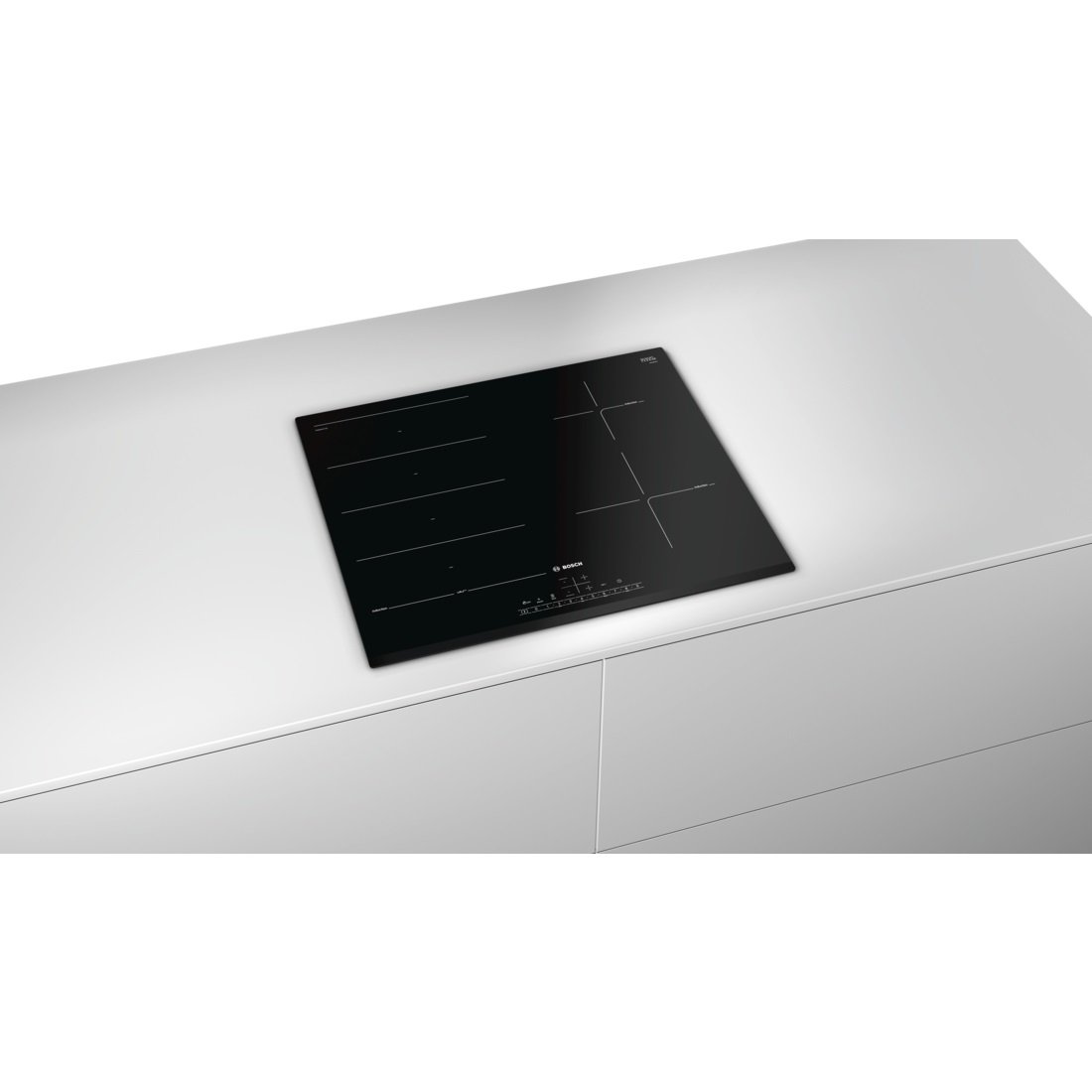 sélection premium e236c 1184e Bosch Series 6 PXE631FC1E Built-In Black Ceramic Glass ...