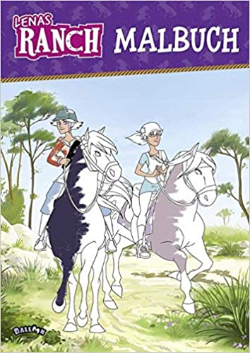 Lenas Ranch Malbuch Amazon De Bã Cher
