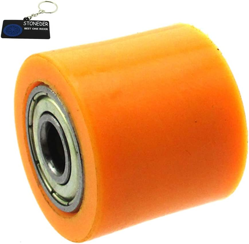 STONEDER giallo 8/mm rullo puleggia tendicatena per Dirt bike motocross ATV 4/Wheeler