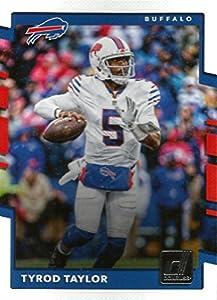 2017 Donruss #202 Tyrod Taylor Buffalo Bills Football Card