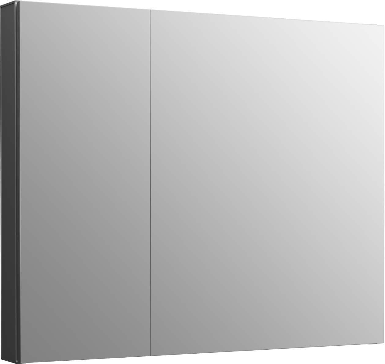 Kohler K-81146-DA1 Maxstow Frameless Surface Mount Bathroom Medicine Cabinet, 30 x 24 , Dark Anodized Aluminum