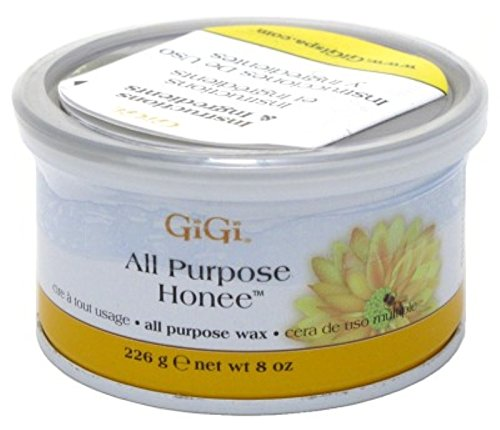 GiGi All Purpose Honee Wax 8 oz ( Pack of 6)
