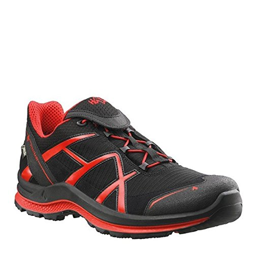 Eagle Negro Gore nbsp;Low 0 Rojo deportivas membrana Zapatillas Tex Black con Haix 2 Adventure q1wvFW75