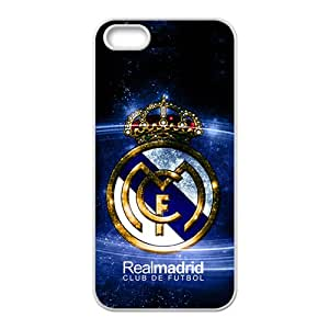 Realmadrid Fashion Comstom Plastic case cover For Iphone 5s